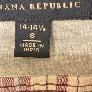 Banana Republic Shirts - Banana Republic flannel